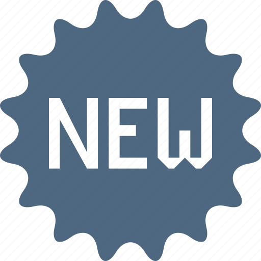 add, new, newest, news, sale, sticker icon