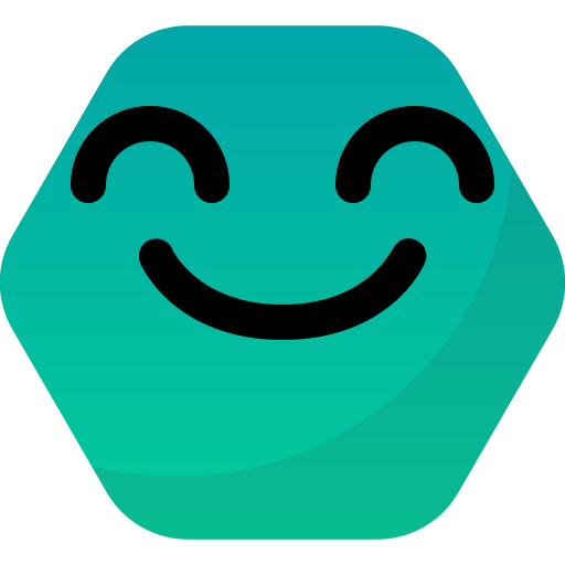 Emoticon, face, happy, reactions, smile, yay icon - Free download