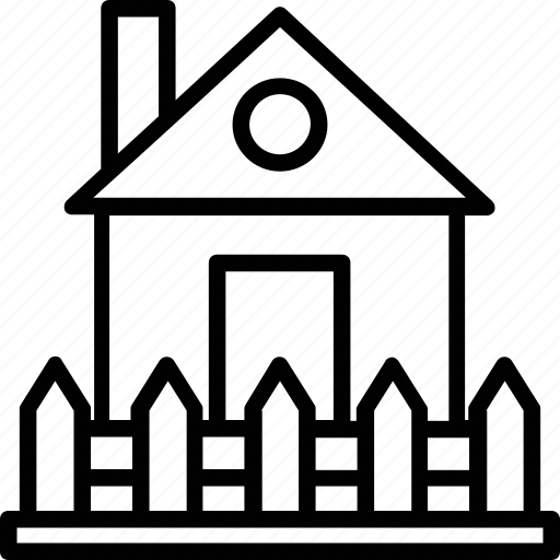bungalow, cottage, hut, lodge, shack icon