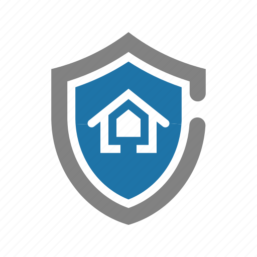 house, insurance, property, protect, real estate icon