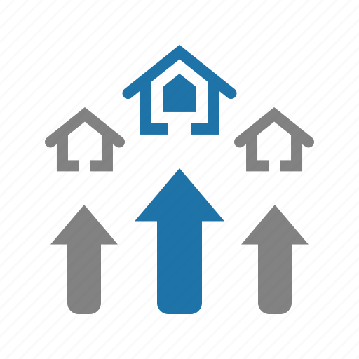 house, investation, property, real estate icon