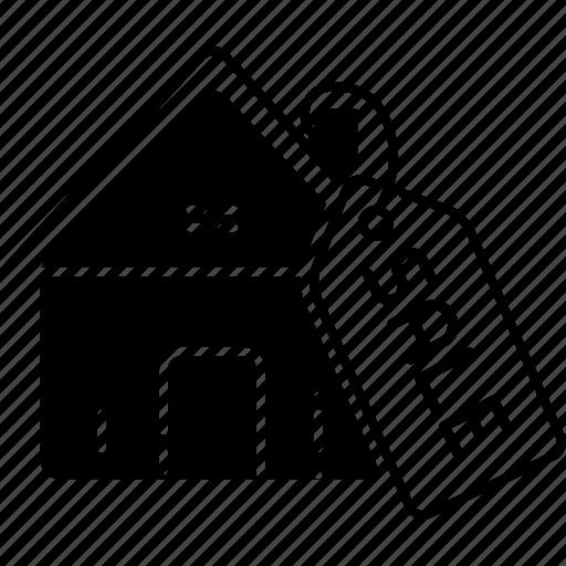 estate, property, real, real estate sale, sale icon
