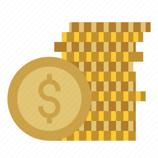 bank, business, coin, coins, commerce, dollars, money icon