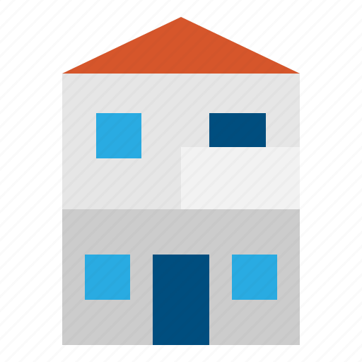 Buildings, estate, home, hous, real icon - Download on Iconfinder