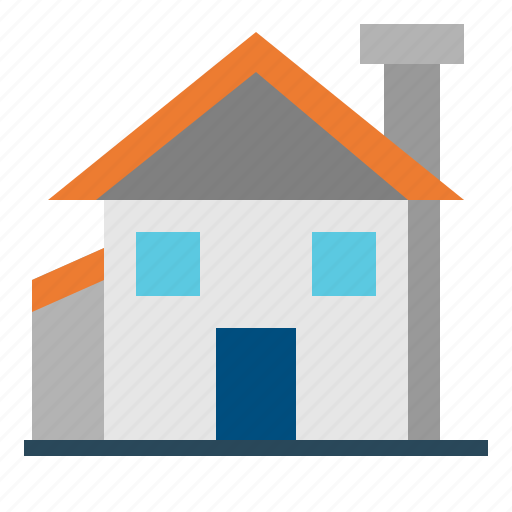 Buildings, estate, garage, home, house, real, rent icon - Download on Iconfinder