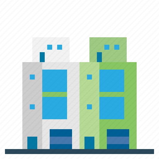 buildings, home, place, townhouse icon