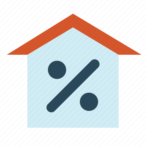 Real, estate, mortgage, house, contract, home, property icon