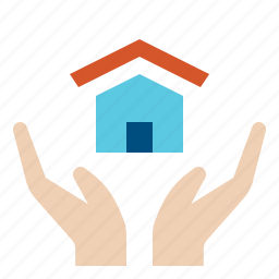 home, house, insurance, property, protection, security icon