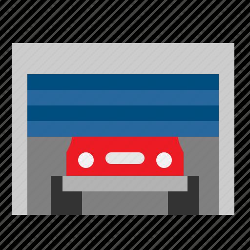 business, car, garage, parking, vehicle icon