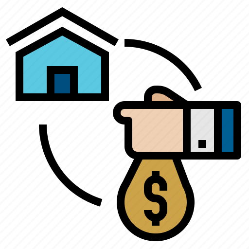 buy, estate, home, real, sell, sold icon