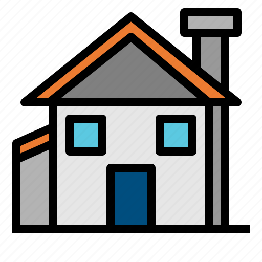 buildings, estate, garage, home, house, real, rent icon
