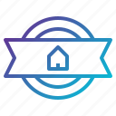 award, business, home, house, medal, prize, winner icon
