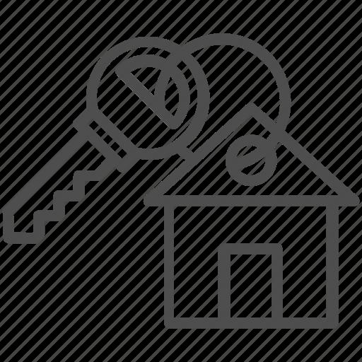 key, lock, password, safe, secure icon