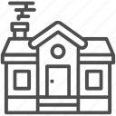 building, home, house, hut, villa