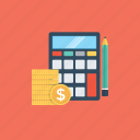 accounting, bookkeeping, calculation, financial, mathematical icon