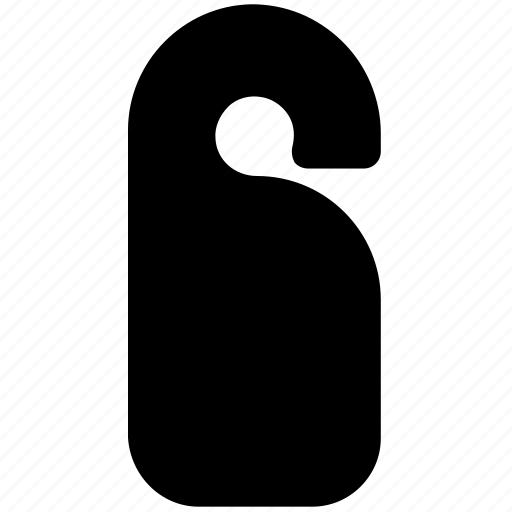 disturb, do, door, hanger, not, privacy, private, sign icon