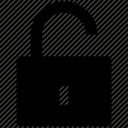 logout, padlock, secure, security, unlock, unlocked icon