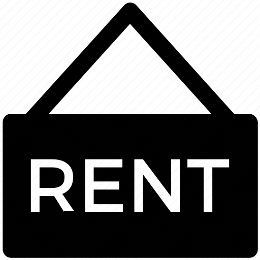 estate, home, house, offer, real, rent, sign icon