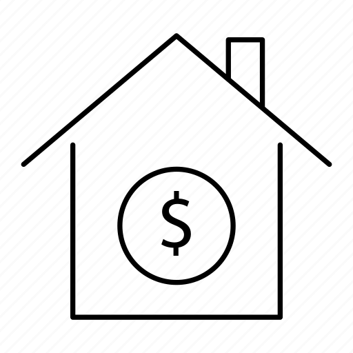 building, home, house, price, property, sale, tag icon