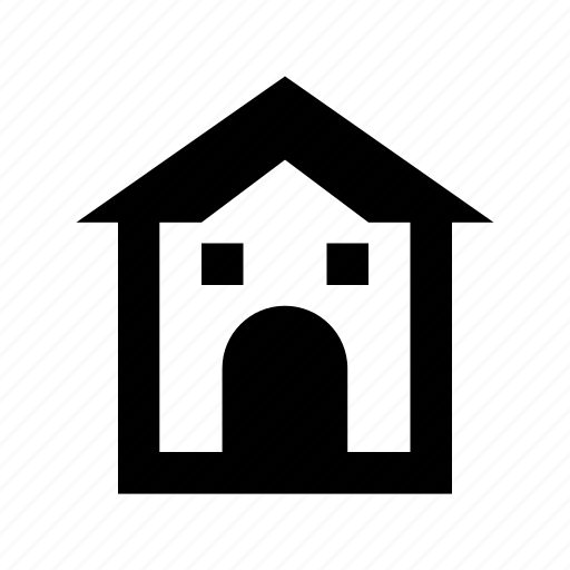 house, hut, rural home, rural house, villa icon