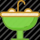 basin, pedestal sink, sink, wash basin, washbowl