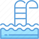 pool, pool stairs, pool steps, poolside, swimming pool icon