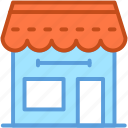 food stand, market, storefront, street stall, street stand icon