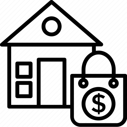 buy house, buying home, property purchasing, property selection, realtor icon