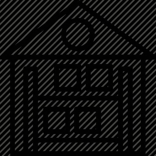 building, storage unit, storehouse, storeroom, warehouse icon