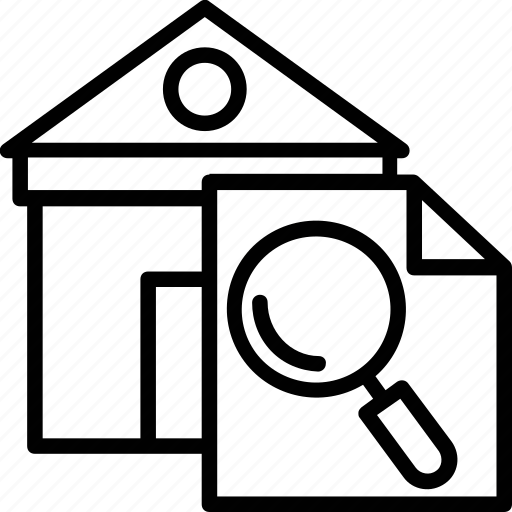 house selection, real estate concept, real estate search, relocation, search home icon