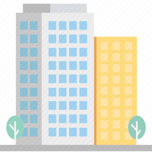 apartments, building, flats, hotel icon