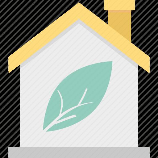 ecology, greenhouse, house, leaf icon