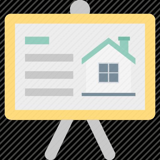 architect, presentation, property presentation, real estate icon