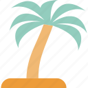 coconut tree, date tree, palm, palm tree icon
