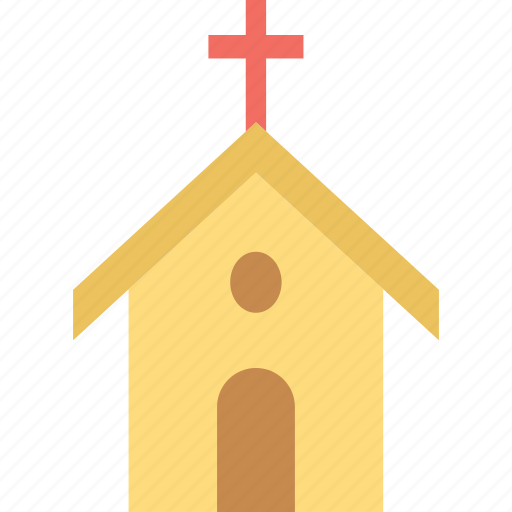 chapel, church, religious, religious building icon