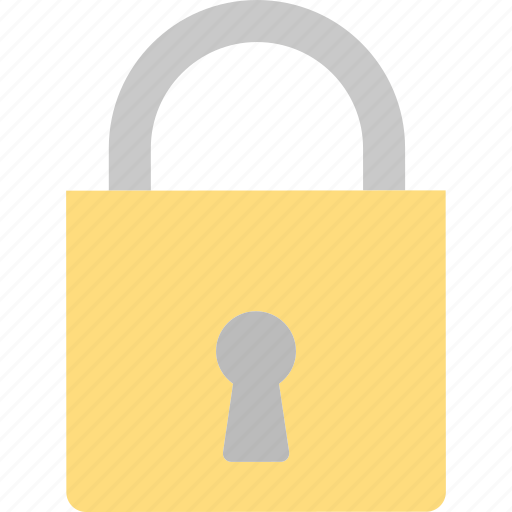 lock, padlock, safety, security icon