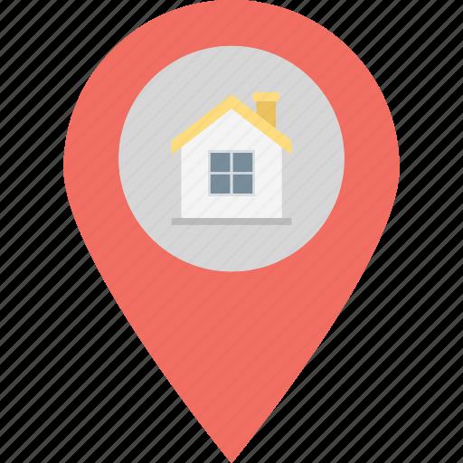 gps, home location, location holder, navigation icon