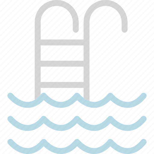 pool stairs, pool steps, swimming, swimming pool icon