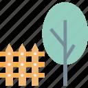 garden, lawn, park, yard icon
