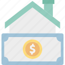 asset, building, dollar, real estate icon