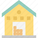 building, home, house, labour house icon