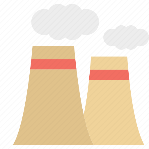brick tower, factory, industry, industry work icon