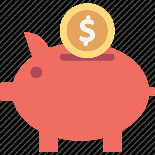 cash bank, money bank, money box, piggy bank icon