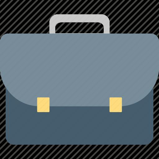 briefcase, portfolio, satchel bag, suitcase icon