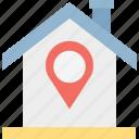 location marker, location pin, location pointer, map pin icon