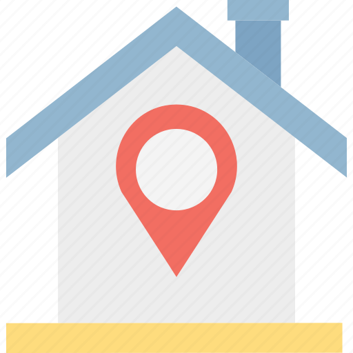 location marker, location pin, location pointer, map pin icon