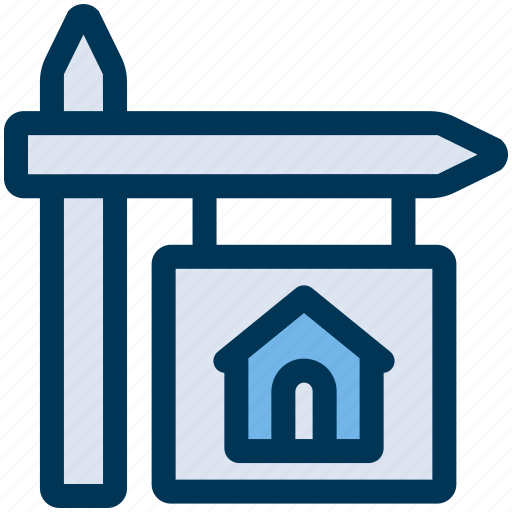 House, property, sign icon - Download on Iconfinder