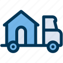 home, house, moving icon