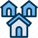apartment, buildings, property icon