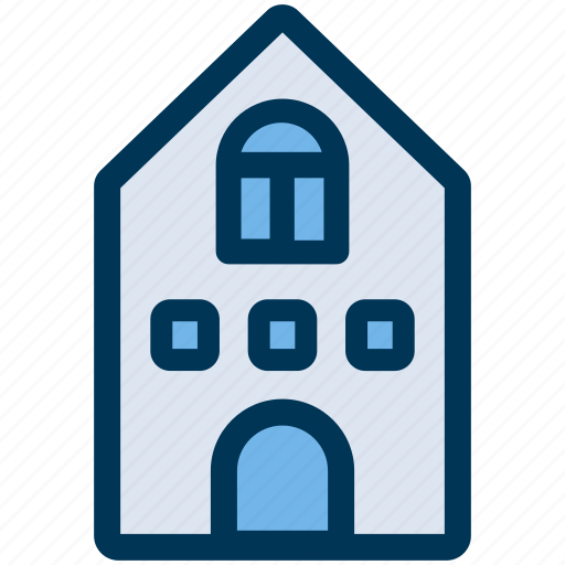building, city, house icon